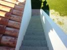 Steps to the terrace