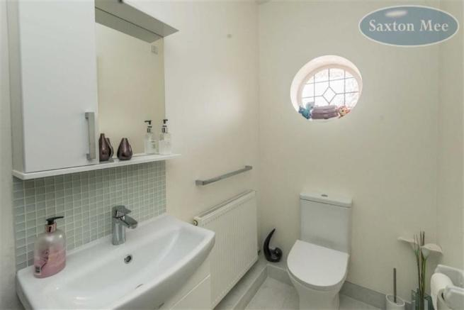DOWNSTAIRS WC/CLOAKROOM