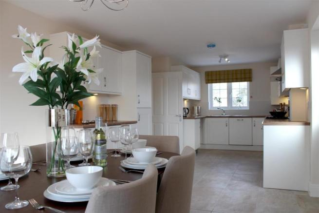 Typical show home interior