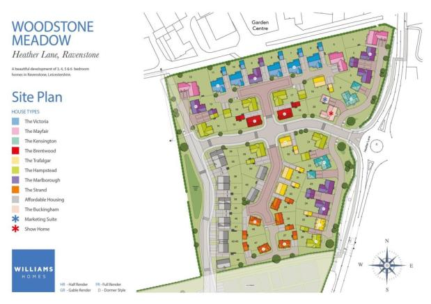 William Homes_Ravenstone Development_SITE PLAN pha