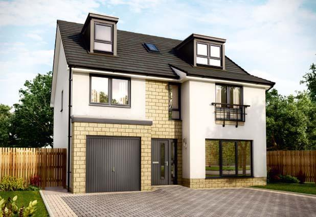 5 Bedroom Detached House For Sale In Stewarton Road