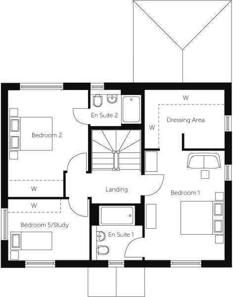 Cypress First Floor