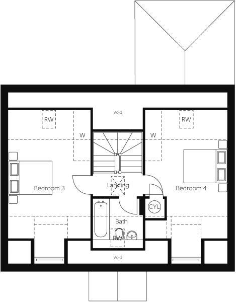 Cypress Second Floor