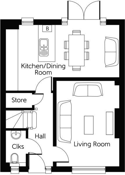The Oak Ground Floor
