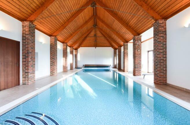 Indoor swimming baths