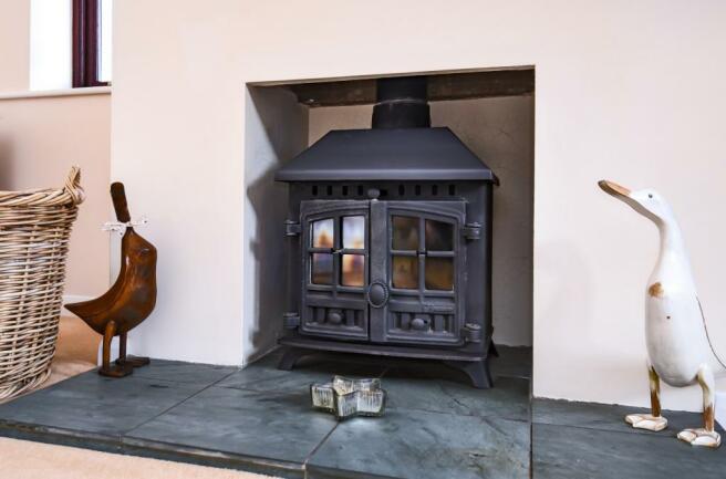 Annexe woodburner