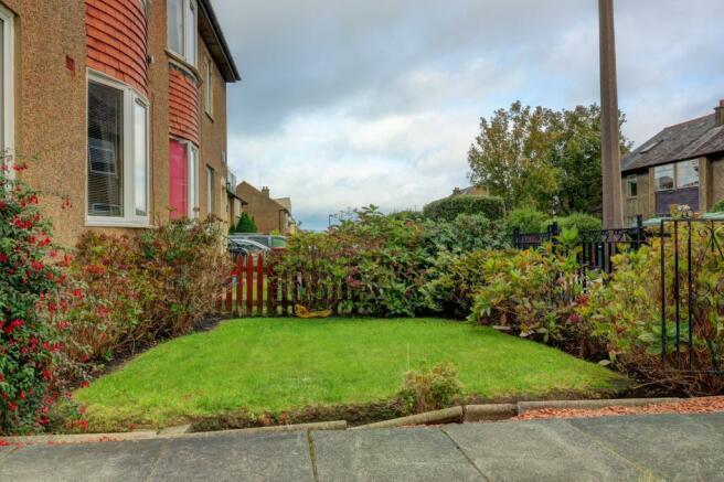 Garden at Front