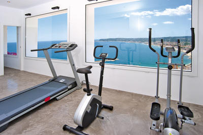 A view to exercise!