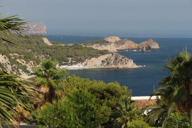 Open sea view