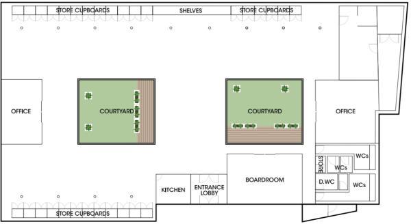 Studio 8 Floor Plan