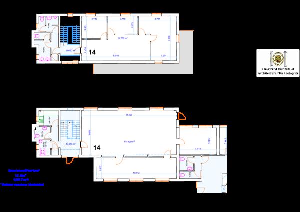 Unit 14 Floor Plan