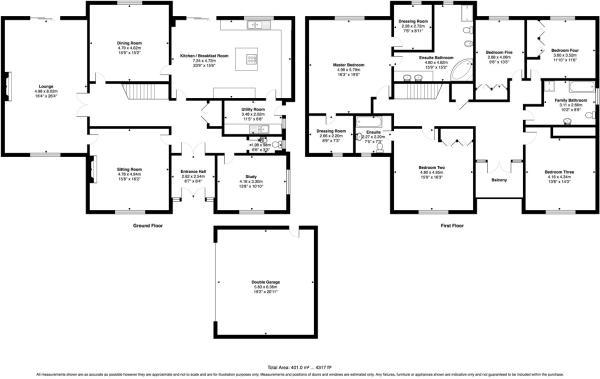 Balmoral Floor Plan