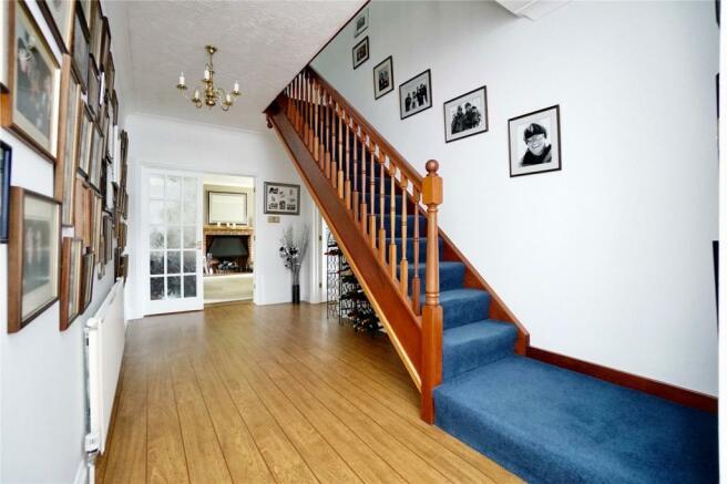 Large Hallway Stairs