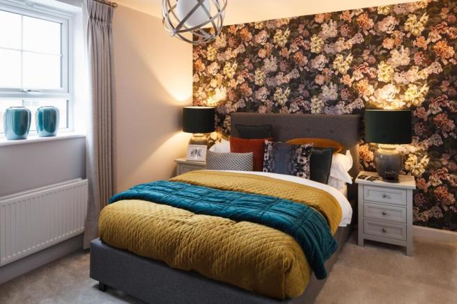 Master bedroom/living room