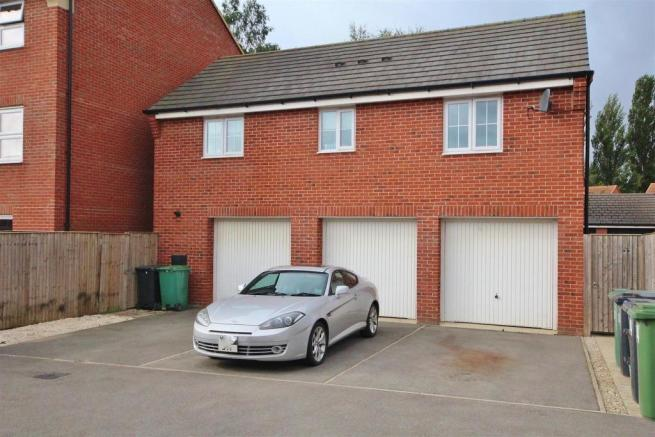 Rear Elevation and Garage