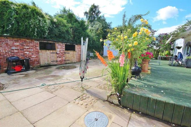Rear Courtyard/Stables
