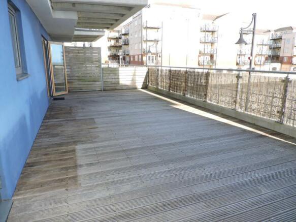 Large Terrace area