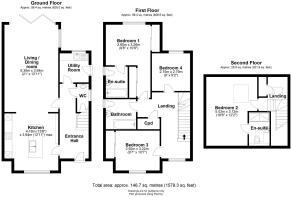 Plot 3 High Street Milton Floor Plan
