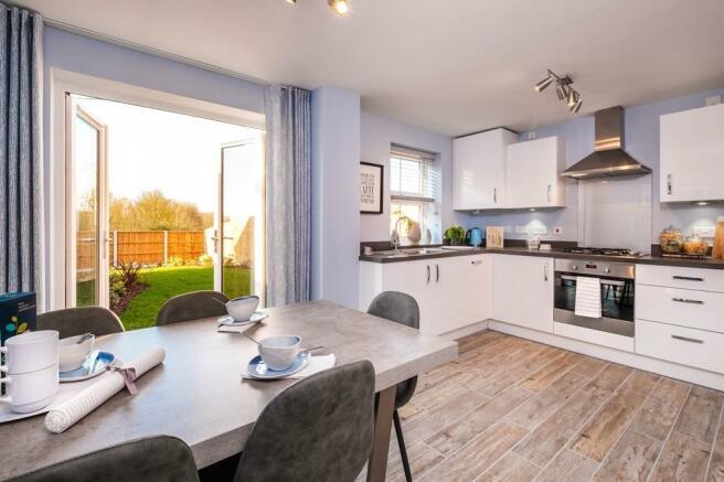 Maidstone Kitchen & Dinning Area