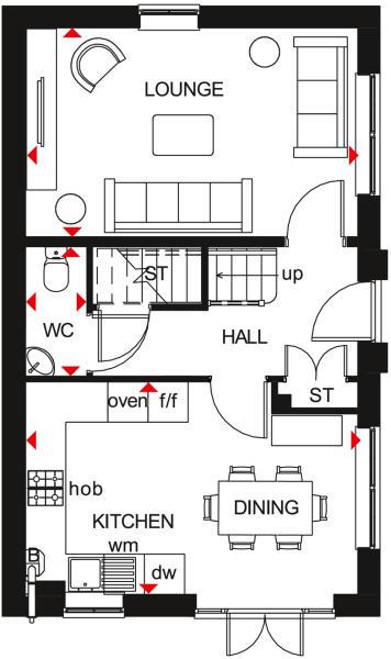 Ennerdale First Floor Plan
