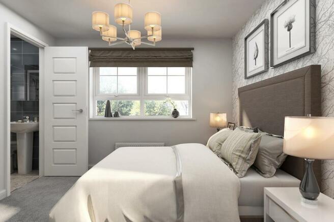 Typical Ennerdale master bedroom