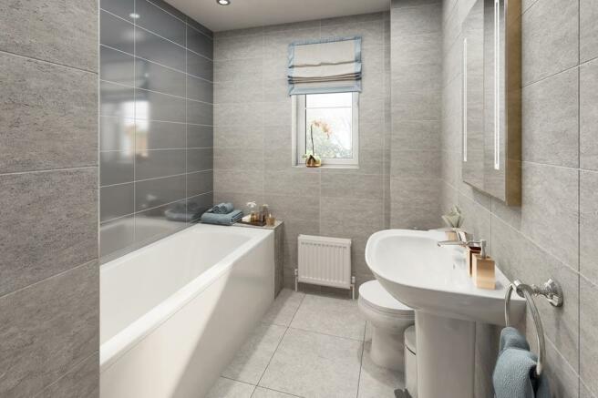 Typical Ennerdale bathroom
