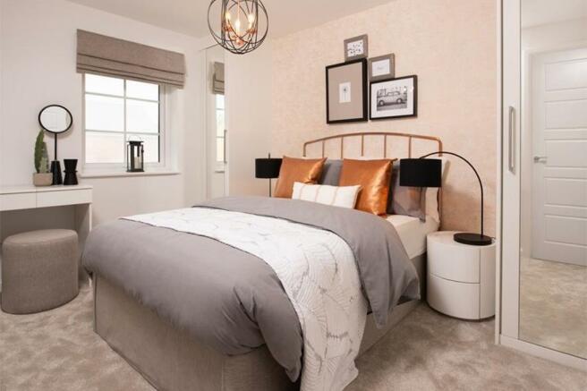 Typical Folkestone bedroom