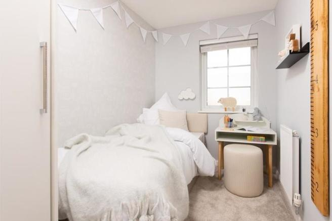 Typical Folkestone third bedroom