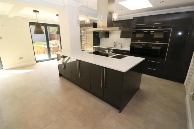 Open Plan Kitchen/ Family/ Sitting Room