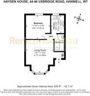 FLAT 4 HAYDEN HOUSE, 44-46 UXBRIDGE ROAD, HANWELL,