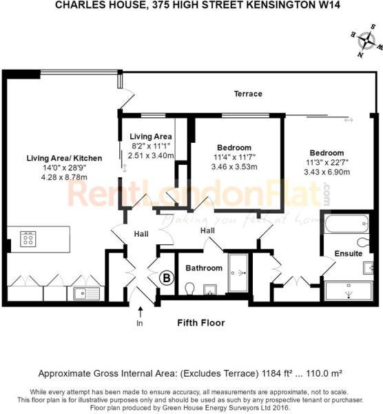 FLAT 39 CHARLES HOUSE, 375 HIGH STREET KENSINGTON