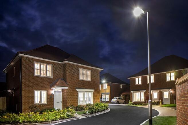 New homes at Aylesham Village