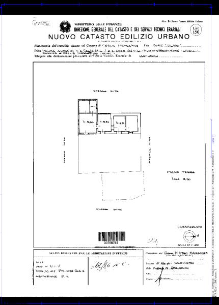 Floor plan main buil