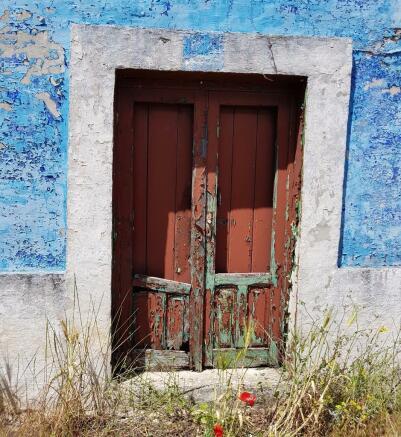 One original door