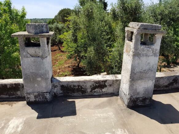 Chimneys of annex