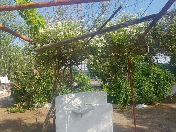 Flower patio