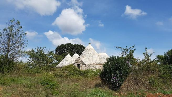 View to trullo