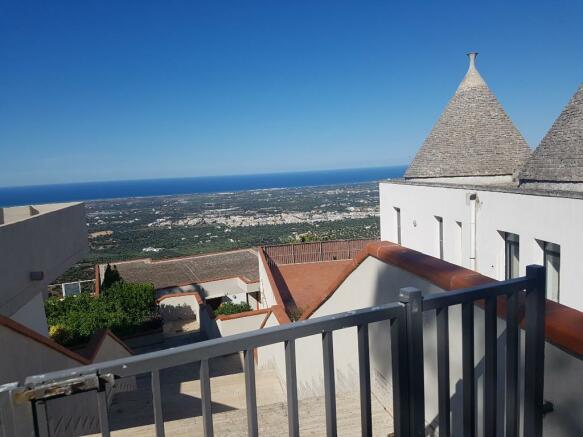 View to trullo