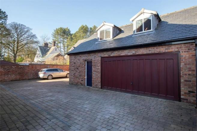 rear and garage