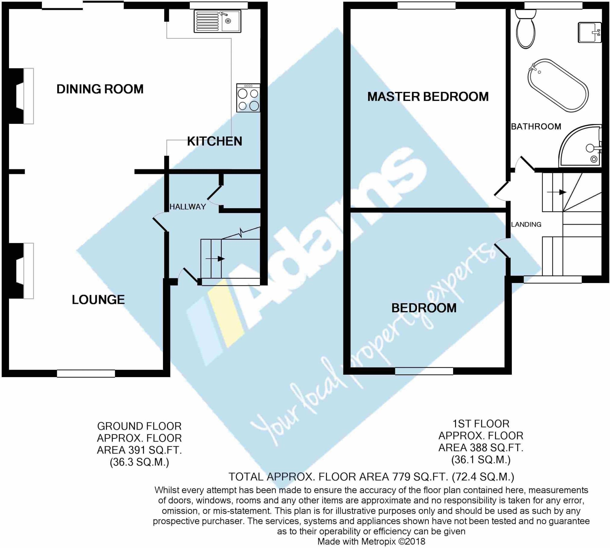 2 bedroom terraced house for sale in Sayce Street, Widnes, WA8