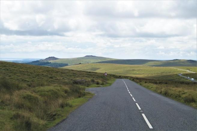 B3212 road from P...