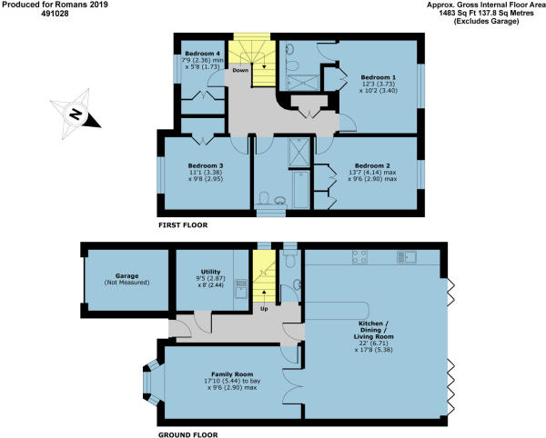 4 bedroom detached house for sale in Gadd Close, Wokingham