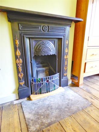 Ornamental Fireplace