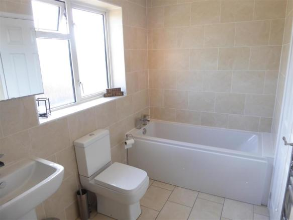 Refitted Four Piece Family Bathroom