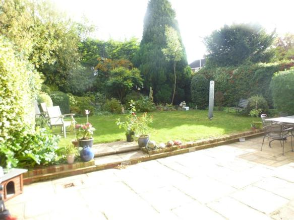South Facing Rear Garden