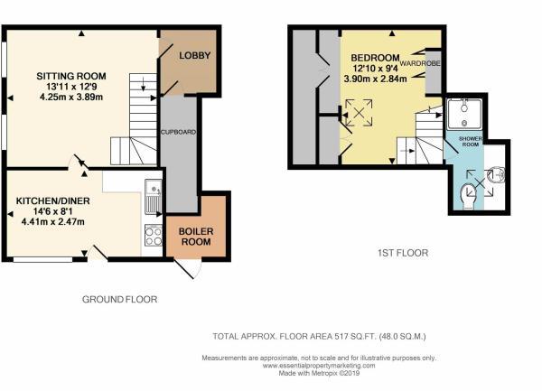 TheAnnexePendellFarm Floor plan.JPG