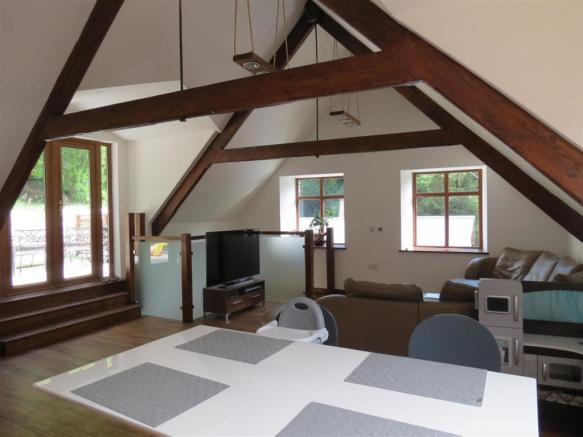 Open Plan Lounge Diner Kitchen