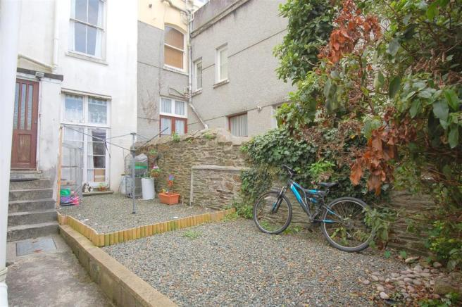 Rear Courtyard & Parking