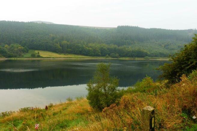 Ladybower water a few miles away.