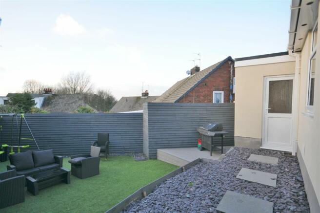 External garden and parking